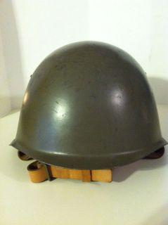 MILITARY ~ CZECH ARMY COMBAT HELMET ~ RUSSIAN HELMET