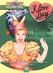 Love Lucy   Season 1 Vol. 1 DVD, 2002, Sensormatic