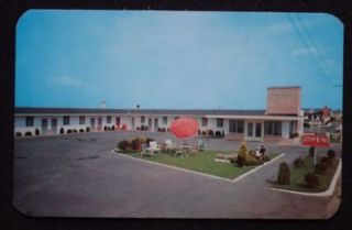 1950s Capri Motel Route 40 Lawn Jockey Atlantic City NJ