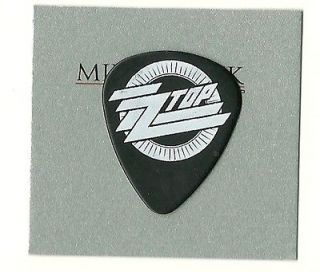 ZZ TOP BILLY GIBBONS TOUR GUITAR PICK!! GUITAR PICKS ZZ TOP!!