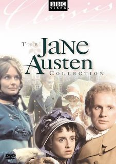 Jane Austen The Complete Collection DVD, 2004, 6 Disc Set
