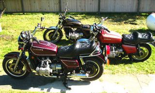 Honda  Gold Wing 3 GLs Goldwings 3 motorcycles plus PARTS,