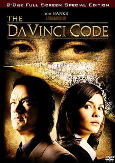 The DaVinci Code (DVD, 2006, 2 Disc Set, FS) Tom Hanks, Audrey Tautou