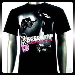 Green Day Billie Joe Punk Rock Band T shirt Sz L