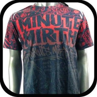 Mirth T Shirt Tattoo bmx Graffiti Rock N98 Sz M Skate Board Indie Vtg