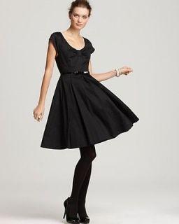 NWT $378 Kate Spade Sweeney Black Dress   Size 8   Beautiful Classic