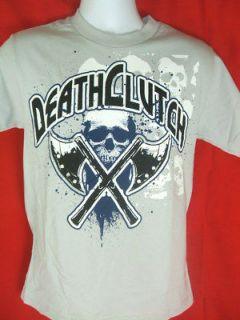 Death Clutch AXES Silver UFC T shirt NEW MMA