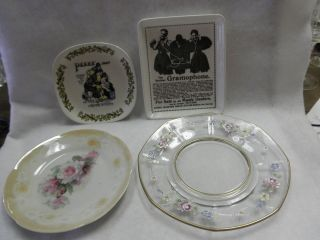 Pin Trays Berliner Gramophone Lord Nelson Pottery Pears Soap Floral