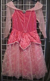 Disney Princess Sleeping Beauty Aurora Pink Dress Costume Large Size