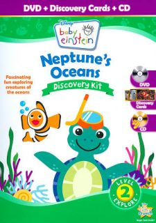 Disney Baby Einstein Neptunes Oceans Discovery Kit DVD, 2011, 2 Disc