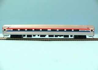 HO SCALE MODEL RAILROAD TRAINS LAYOUT BACHMANN AMTRAK PHASE 3