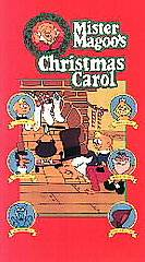 Mr. Magoos Chrismas Carol VHS, 1994