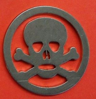 Dog Round Skull and Cross Bones Ball Marker   Strictly Limited Edition