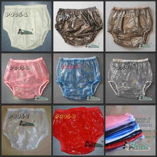 10 * ADULT BABY PLASTIC PANTS PVC incontinence #P005