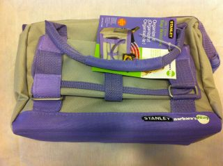 NWT STANLEY BARBARAS WAY 12 TOOL BAG