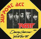 1987 Dancing Undercover Concert Tour Backstage Pass Authentic OTTO