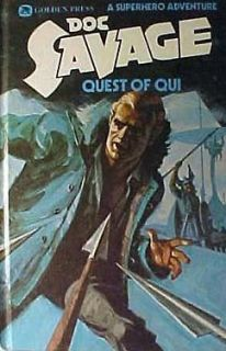 1975 DOC SAVAGE QUEST OF OUI Pulp Hero Hardback