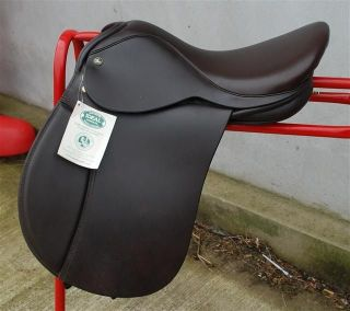Vintage Ideale 49 French Leather Saddle Clamp Very Rare Very Beautiful