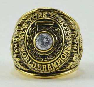 1953 New York Yankees Championship World Series Ring Box mantle berra