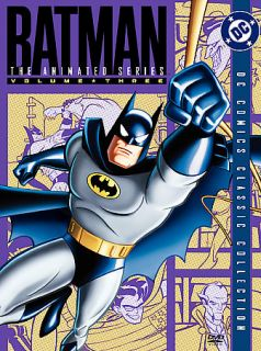 Batman The Animated Series   Vol. 3 DVD, 2005, 4 Disc Set