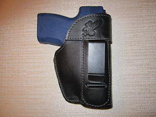BERETTA NANO LEATHER AMBIDEXTROUS GUN HOLSTER, WORKS FOR LEFT & RIGHT