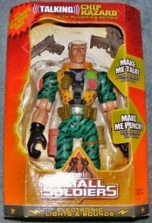Small Soldiers Talking Chip Hazard with Punching Action