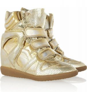 NIB ISABEL MARANT F/W2013 BIRD DORE WEDGE SNEAKERS Sz 41