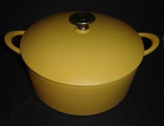 MARIO BATALI Cast Iron Enamel 5.6 Qt Stock pot round DUTCH OVEN
