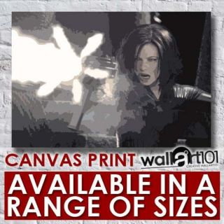 Kate Beckinsale (5)   Underworld Paint Effect High Quality Framed