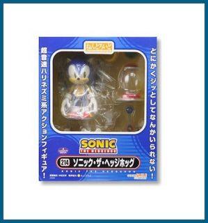 New Good Smile Company Sega Nendoroid Sonic the Hedgehog Figure Free