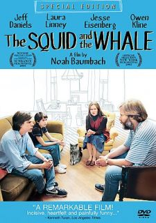 The Squid and the Whale DVD, 2006, Special Edition