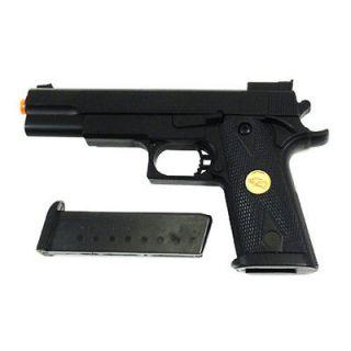 2x DE Desert Eagle P169 Colt M1911 .45 Cal Pistol Spring Power Airsoft
