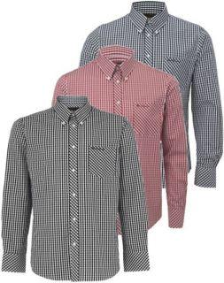 Ben Sherman Shirt WiltShire Long Sleeve Gingham Check