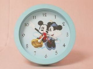 Newly listed NEW Minnie Mickey Mouse Round Alarm Clock L@@K