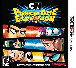 Cartoon Network Punch Time Explosion for Nintendo 3DS Video Game