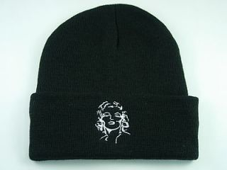 Hat 324 Beanie Ski Marilyn Monroe Lady Pretty Cap Hat