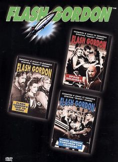Flash Gordon   Space Soldiers Trip To Mars Conquers the Universe DVD