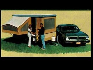 BETHANY TENT TRAILER RV OPERATIONS MANUALs   330pgs with Camper