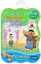 Bert Ernies Imagination Adventure V.Smile TV Learning System