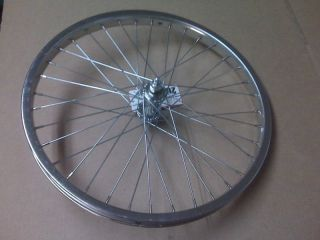 NEW BMX Bike Bicycle Wheel 16 Front Chrome