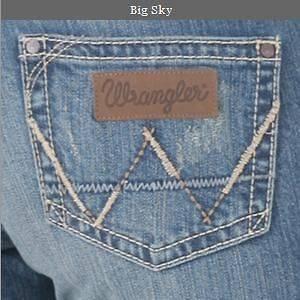 Womens Premium Patch Mae BIG ROCK Western Riding Jeans ~ 5/6x34