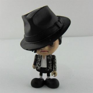 Michael Jackson MJ Billie Jean Cute Figure Dolll 3