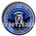 Barack Obama Joe Biden Inaugural Pin Button President VP SEAL