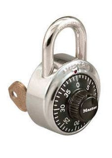 Master Lock Series 1525 Combination Padlock Stainless Steel Key
