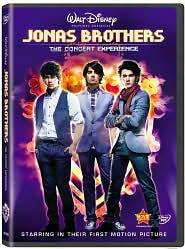 Jonas Brothers   The Concert Experience DVD, 2009