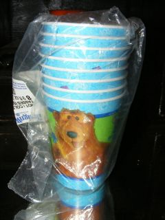 Bear in the Big Blue House Birthday Party Decoration Cups JIm Henson