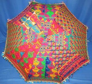10 Traditional Indian Big UMBRELLAS wholesale lot India
