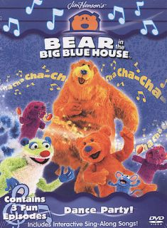 Bear In The Big Blue House Dance Party