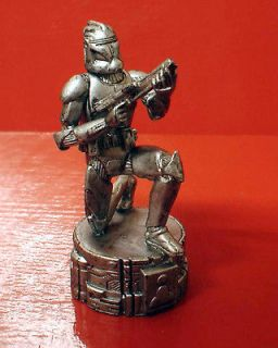 STAR WARS SAGA EDITION CHESS WHITE PAWN CLONE TROOPER