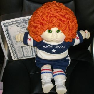 CABBAGE PATCH KID NURSERY EDITION BABY BILLY SOFT SCULPTURE BSBB 207